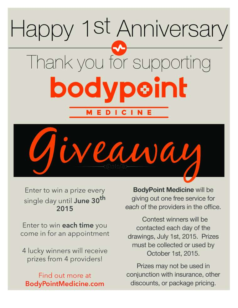 BodyPoint Medicine June 2015 Special Longmont, CO